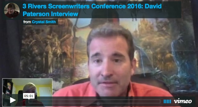 3 Rivers Screenwriters Interview David Paterson